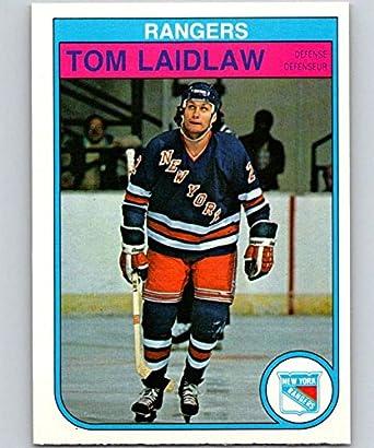 Amazon.com  1982-83 O-Pee-Chee  227 Tom Laidlaw NY Rangers NHL ... 97efc2920