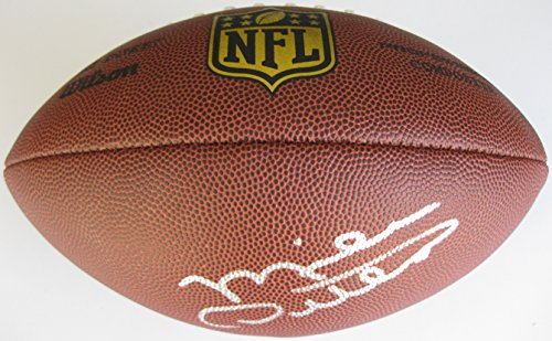 (Mike Ditka Chicago Bears, Signed, Autographed, NFL Duke Football, a COA with the Proof Photo of Mike Signing Will Be Included with the Football)