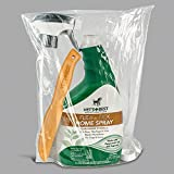 Vets Best Natural Flea and Tick 32 oz Home Spray and Bamboo Flea Comb for Dogs Bundle