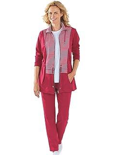 AmeriMark Striped Woven Tunic