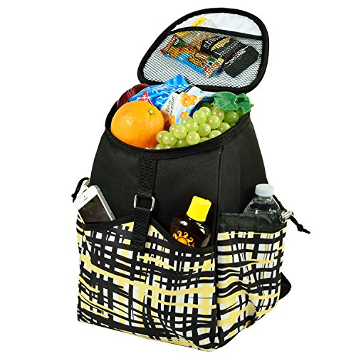 Picnic at Ascot Insulated Backpack Cooler Paris