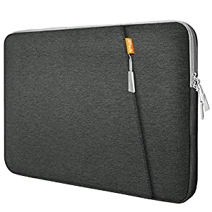 JETech Funda Portátil Compatible 13,3″ Notebook Tableta iPad Tab, Maletín de Bolsa Impermeable, Sleeve Compatible con Macbook Air/Pro, MacBook Pro de 13″, 12.3 Surface Pro, Surface Laptop, Gris 513wb1fCKzL