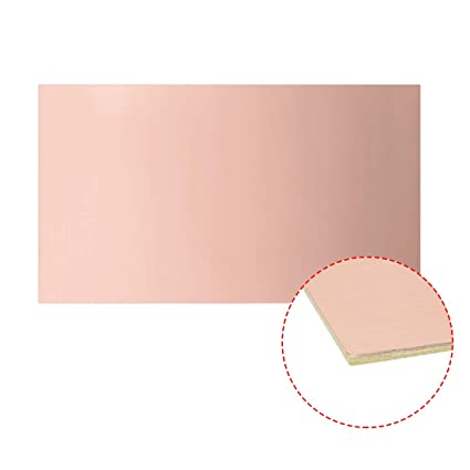 Buy uxcell 130x75mm Single-Sided Copper Clad Laminate PCB