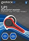 Gioteck LP-1 Bluetooth Chat Headset (PS4) - Red from Gioteck