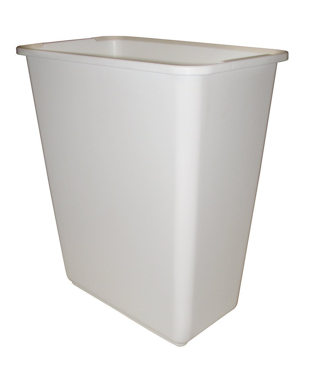 Rev-A-Shelf Replacement Waste Bin White-30 Quart by Rev-A-Shelf