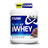USN BlueLab 100 Percent Whey, 4.5 Pounds, Molten Chocolate