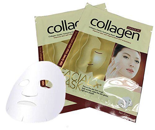 Face Venom Costume Paint (Collagen Essence Full Face Facial Mask Sheet For Moisturizing Whitening Skin Care Treatment Anti-aging 5)
