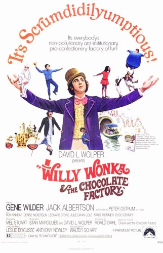 Pop Culture Graphics Willy Wonka and The Chocolate Factory (1971) - 11 x 17 - Style A (Real Willy Wonka And The Chocolate Factory)