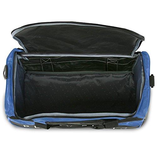 """513wdyh9BKL - Perry Ellis 22"""" Weekender Duffel Bag, Navy"""