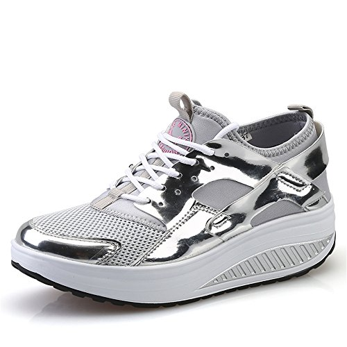 Cheap  pit4tk Women's Lightweight Jogging Training Running Shoes Breathable Athletic Walking Tennis Sneakers..