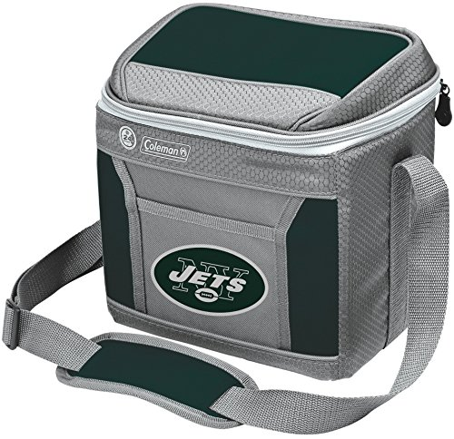 NFL New York Jets 9 Can Soft-Sided Cooler with Ice, Green