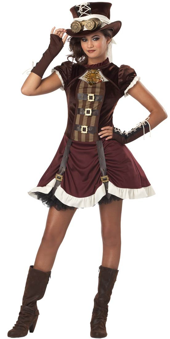 amazoncom california costumes steampunk girl tween costume large toys u0026 games
