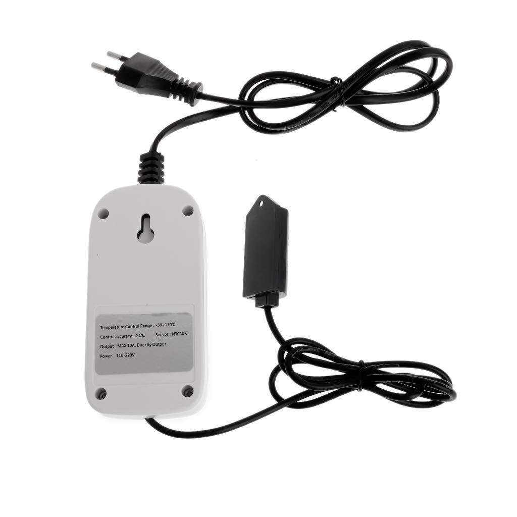 Digitaler Feuchtigkeitsregler Hygrostat Feuchtigkeitsregler Schaltsteckdose 110V-220V