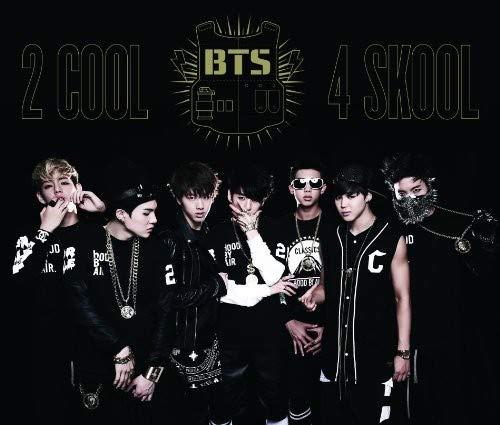 BTS (방탄 소년단) 2 COOL 4 SKOOL/O!RUL8,2 일본 사양반 CD+DVD