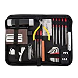 LYWS Complete Care Set of Guitar Repair and Maintenance Tools set w/ Case