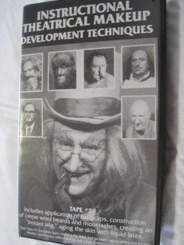 Instructional Theatrical Makeup Development Techniques - Volume -