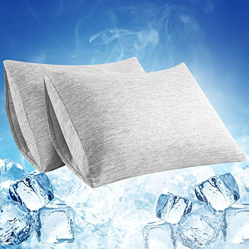 LUXEAR Cooling Pillowcase 2 Pack