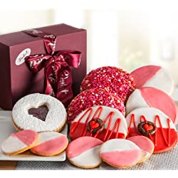 Valentines Day Love Cookie Bakery Gift Basket