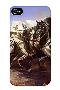 High Quality Runandjump Knights At War Skin Case Cover Specially Designed For Iphone - 4/4s