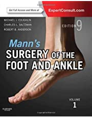 Mann's Surgery of the Foot and Ankle, 2-Volume Set: Expert Consult: Online and Print, 9e (Coughlin, Surgery of the Foot and Ankle 2v Set) by Michael J. Coughlin MD (2013-11-06)