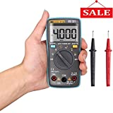 Digital Multimeter, DKMHA Autoranging Multimeters 4000 Counts Electronic Volt Amp Ohm Meter with Diode and Continuity Test