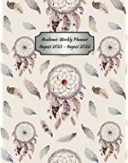 2021-2022 Academic Weekly Planner (Dream Catcher): A School-Year Tracker for Students