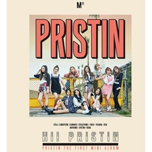 Price comparison product image PRISTIN-[HI! PRISTIN] 1st Mini Album PRISMATIC VER CD+Photobook+PhotoCards+Sticker K-POP SEALED