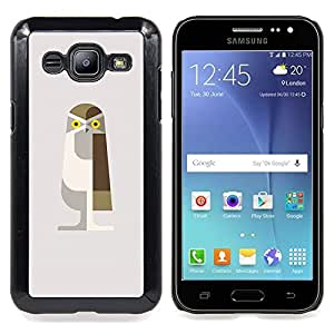 BullDog Case - FOR Microsoft Nokia Lumia 540 N540 - Frog Orator White Minimalist - Dise???¡¯???¡Ào para el caso de la cubierta de pl???¡¯????stico Chic