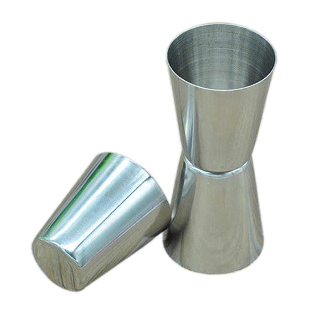 Jujor 10-pc bicchiere//tazza in acciaio INOX//vetro 1/oz.