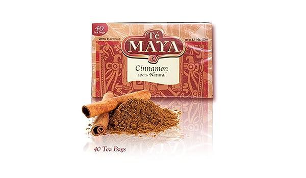 Amazon.com   Te Maya - Cinnamon Tea from Guatemala - 40 bags   Grocery    Gourmet Food ab9e1af20ff63