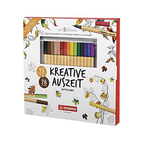 Stabilo D/87 – 2409 Adulto de libro para colorear – creativos ...