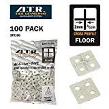 ATR Tile Leveling Alignment System 100 2mm Floors Cross Spacing Plate