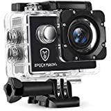 Epoch Making 1080P Sport Action Camera Waterproof With 2-INCH LCD For Racing, Riding, Motorcycle, Motocross and Water Sports.