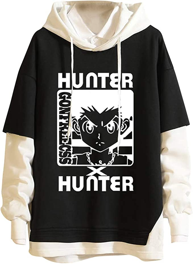 Hunter X Hunter Gon Freecss et Killua Zoldyck Sweat à Capuche Veste Pull