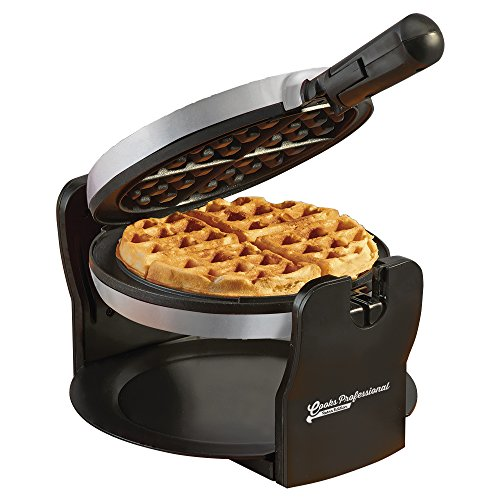 Belgian Waffle Maker Machine Rotary Electric Iron 180° with Non Stick...