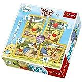 Legler 4-in-1 Winnie The Pooh  Non-Wooden Puzzles