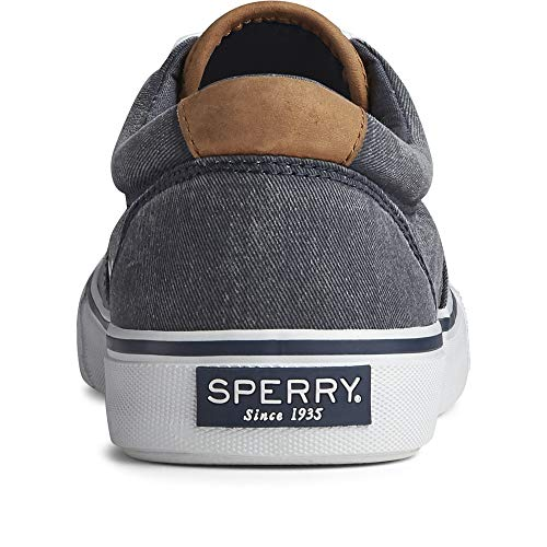 Sperry Men's Striper II CVO Core Sneaker, SW Navy, 10 M US