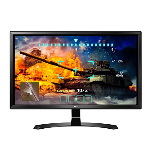 - LG 27UD58-B 27-Inch 4K UHD IPS Monitor with FreeSync