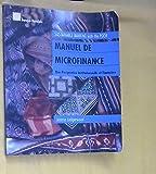 Manuel de Microfinance: Une perspective institutionelle et financiere (French Edition)