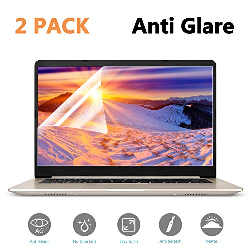 15.6 in Laptop Screen Protector, Anti-Glare/Anti Scratch Matte Laptop Screen Protector Guard for Display 16:9 15 inch Notebook Film (Screen Glare Laptop Anti)
