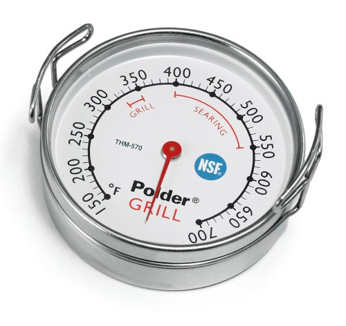 Polder Grill Surface Thermometer Silver product image