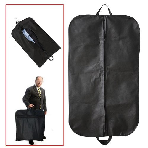 AllLife - Custodia antipolvere per abiti e cappotti, colore nero [Cucina]