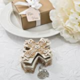 48 Vintage Design Cross Trinket and Jewelry Boxes Religious Favors