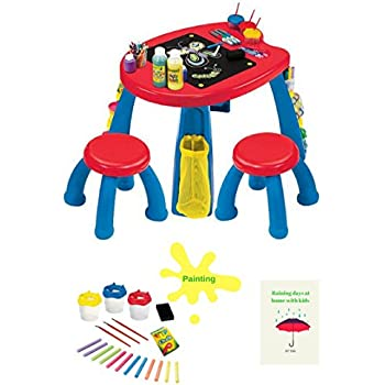 Amazon Com Delta Children Chair Desk With Storage Bin