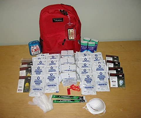 Safe-T-Proof 4 Person/3 Day Grab and Go Survival Kit - 3 Day Emergency Survival Kit