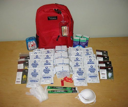 Safe-T-Proof 4 Person/3 Day Grab and Go Survival Kit
