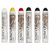 oil paint sticks - Jack Richeson Shiva Oil Paintstik, Basic Colors, Set of 6