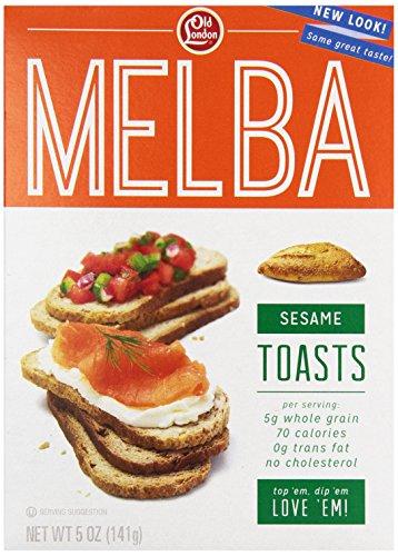 Toast Snack - Old London Sesame Toast, 5 oz