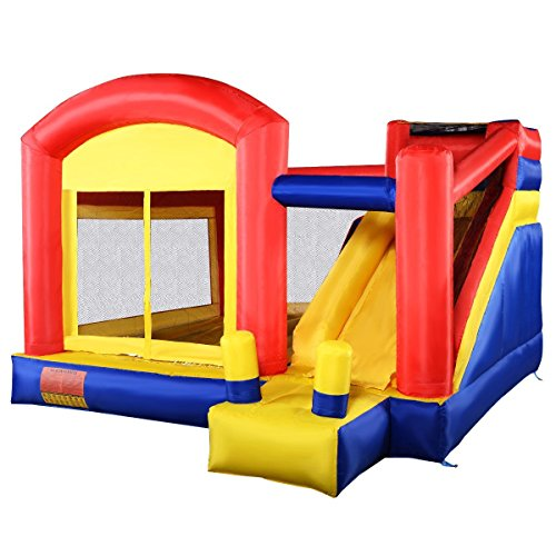 - Apontus Super Slide Inflatable Bounce House Castle Moonwalk Jumper Bouncer New