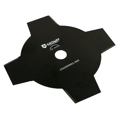 Groway 5090D04272 - Disco universal para desbrozadora, de 4 ...